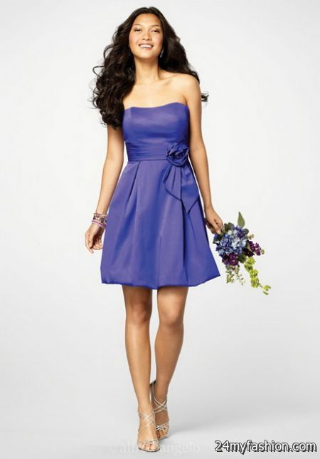 Short bridesmaid dress review