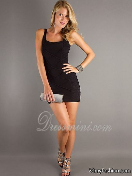 Short tight black dress review