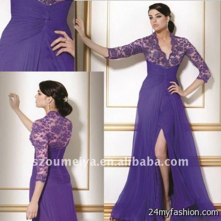 Sleeved evening dresses review