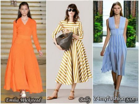 Spring dresses for review