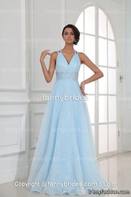 Summer evening gowns