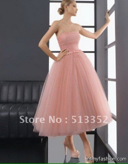 Tea length ball gowns review