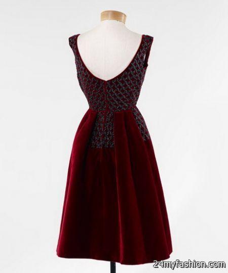 Velvet cocktail dresses review