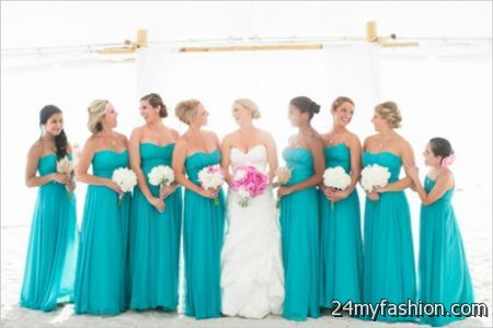 Wedding bridesmaid dress