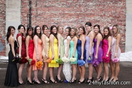 Wedding dress bridesmaid review