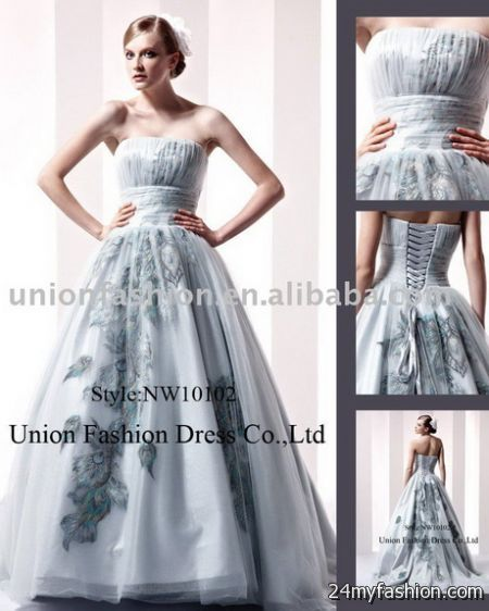 Wedding evening gown review