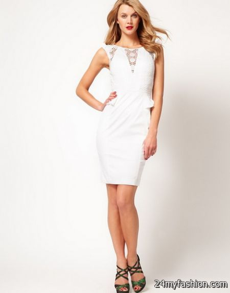 White day dresses
