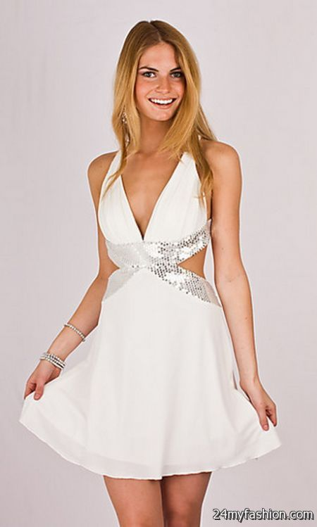 White dress party review
