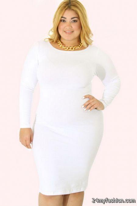 White dress plus review