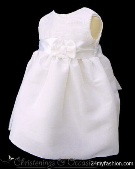 White dresses for baby girls