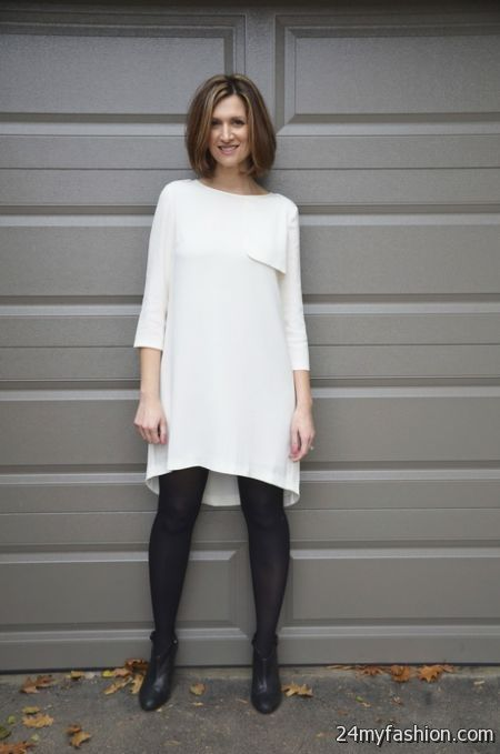 White winter dresses review