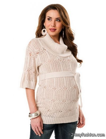 Winter maternity dress