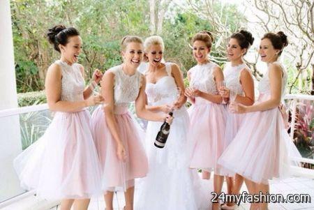 Winter wedding bridesmaid dresses review