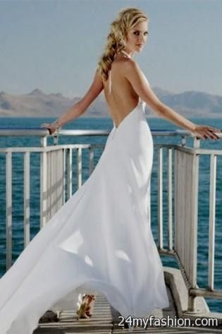 backless chiffon wedding dresses review