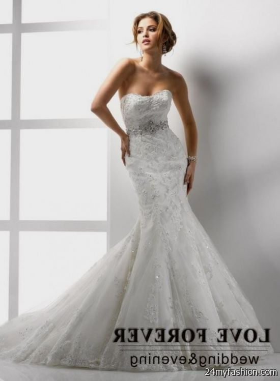 beautiful mermaid wedding dresses