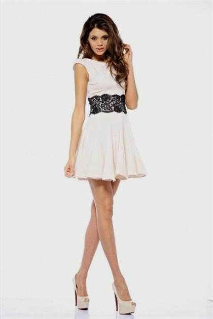 black and white dress for juniors