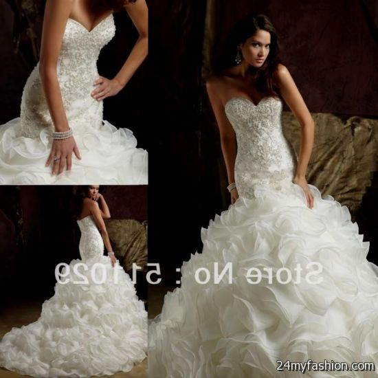 Fitted Wedding Dresses with Bling