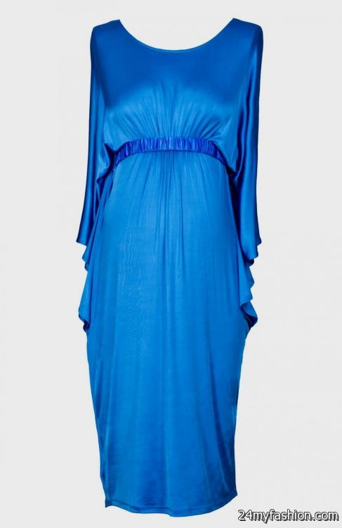 blue maternity dress for baby shower review