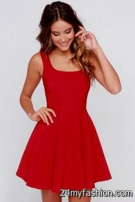 casual red dresses for juniors review