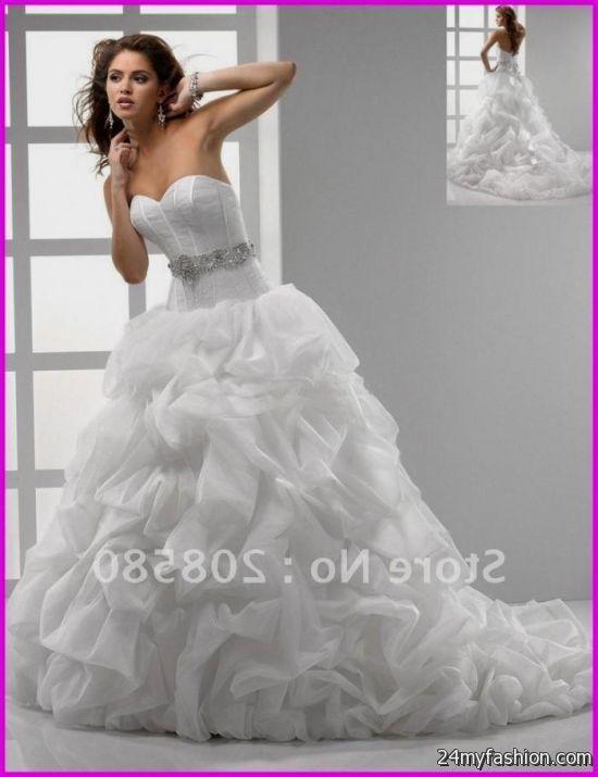 corset back ball gown wedding dress review