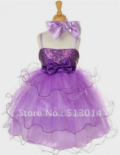 cute purple dresses for kids
