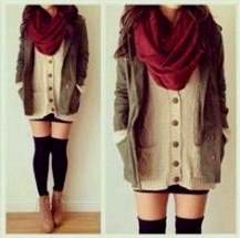 cute winter dressy outfits