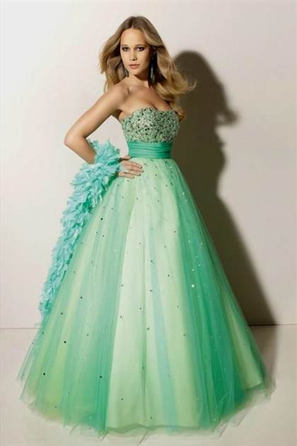 dark blue princess prom dresses
