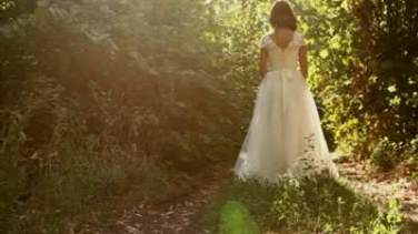 forest wedding dress vintage