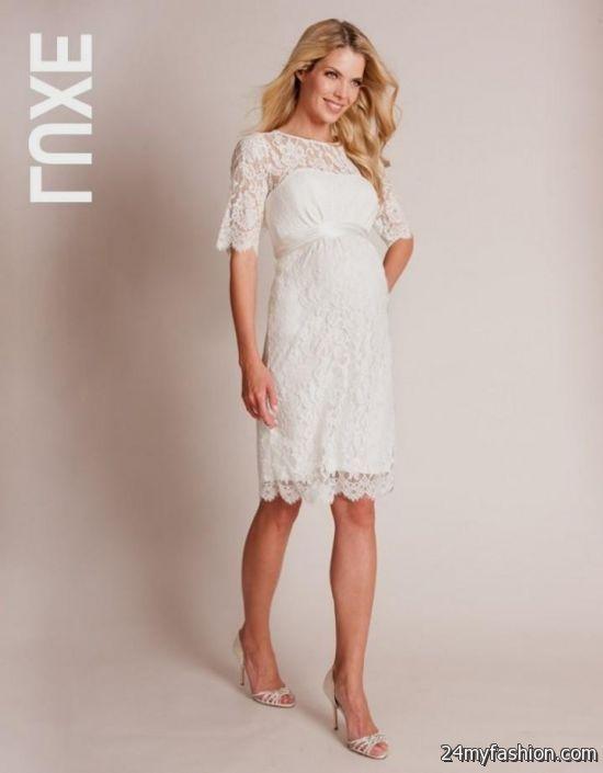 lace maternity dress