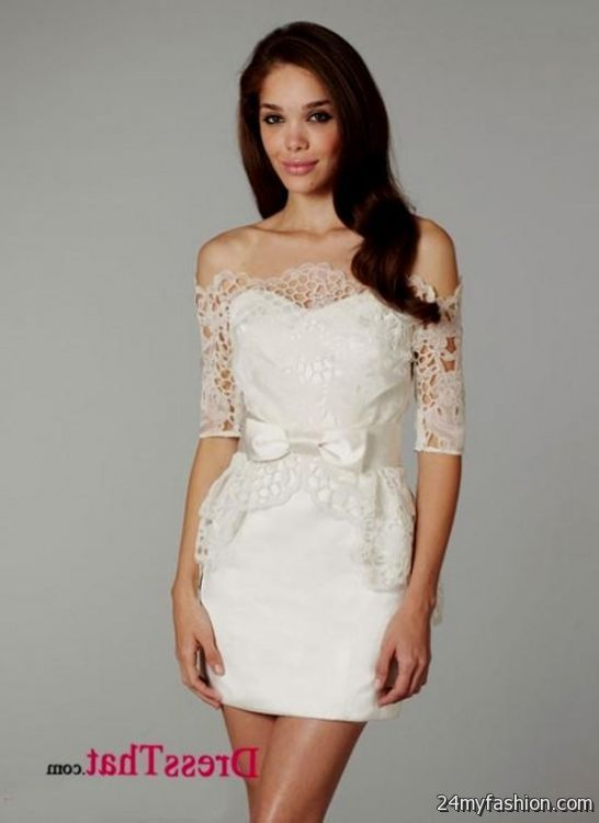 lace short wedding dress review