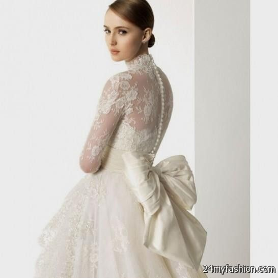 lace winter wedding dresses