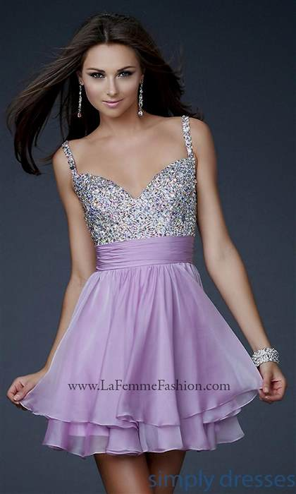 lavender party dresses