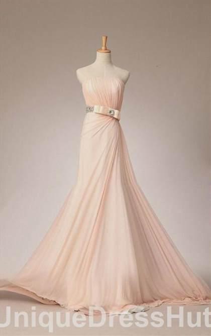 light pink wedding dresses simple