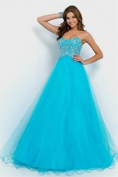 long prom dresses blue