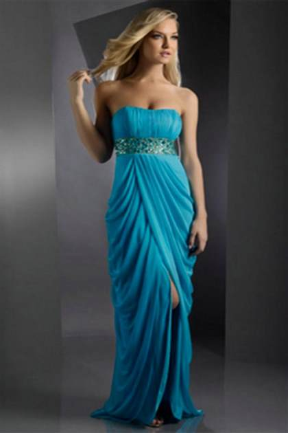 long strapless prom dresses