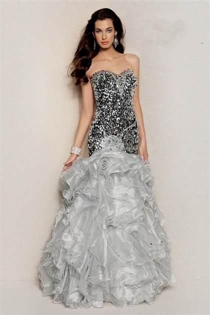 long strapless prom dresses