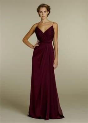 merlot bridesmaid dresses