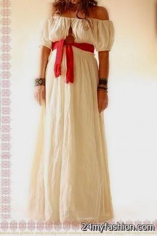 mexican cotton wedding dress