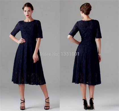 mother of the bride dresses tea length plus size