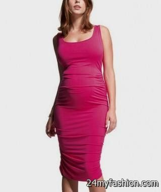 pink maternity dress review