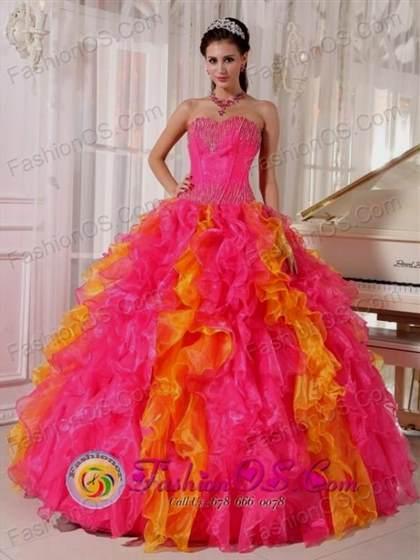 pink sweet 16 dresses