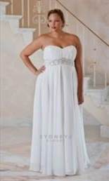 plus size casual wedding dresses