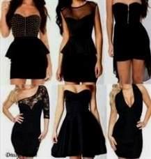 pretty black dresses tumblr