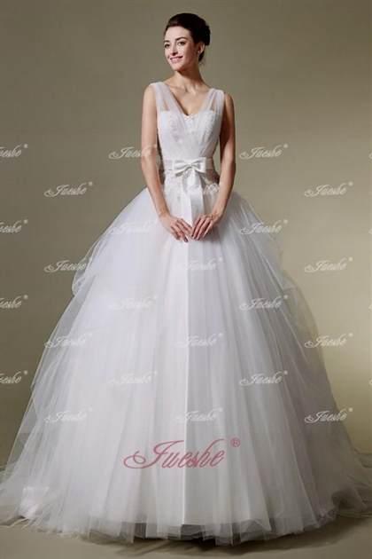 princess wedding dresses with straps