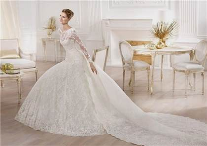 princess wedding gowns with sleeves