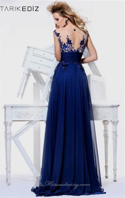 prom dresses lace blue