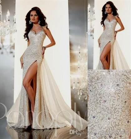 prom dresses white