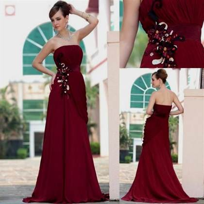 red dresses for wedding party