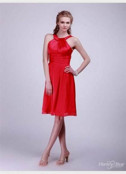 red dresses for women on parties