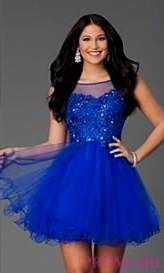 royal blue dresses for homecoming